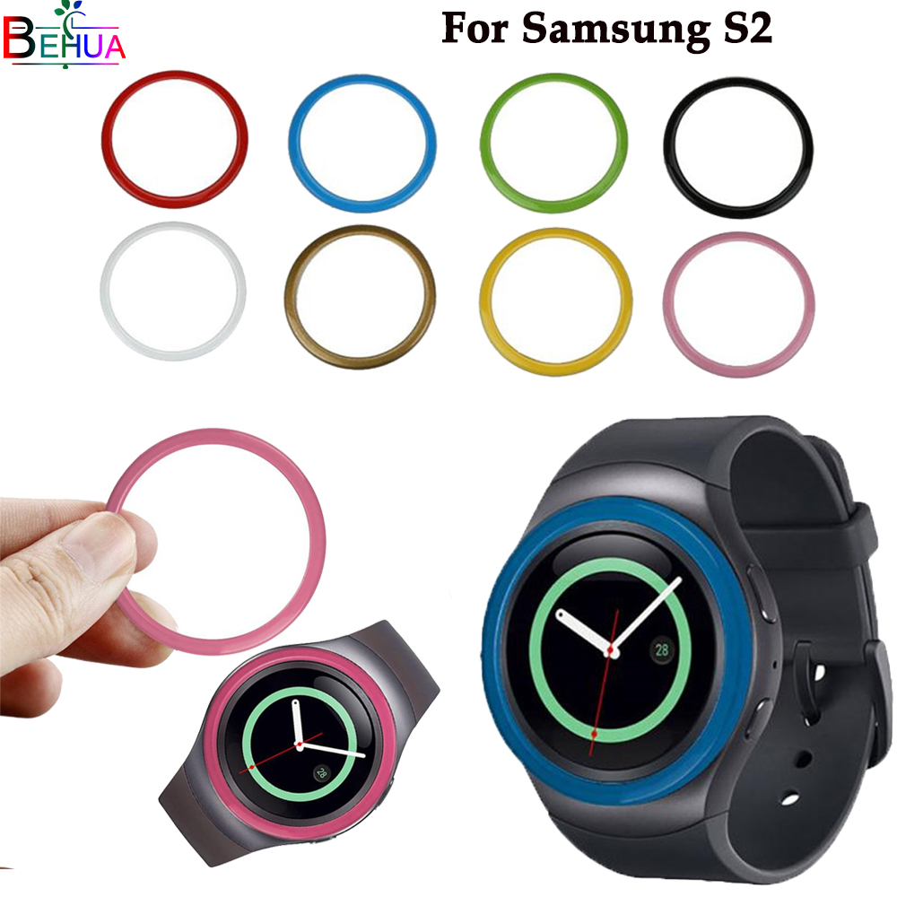 Gear S2 watch band Protective accessories For Samsung Gear S2 Samrt watch fashion color Silicone protective case Protect screen image