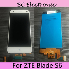 For ZTE Blade S6 S 6 LCD Screen 100 Original LCD Display Touch Screen Assembly Replacement