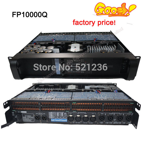 fp10000Q 4ch pa power amplifier with 110V/220V version