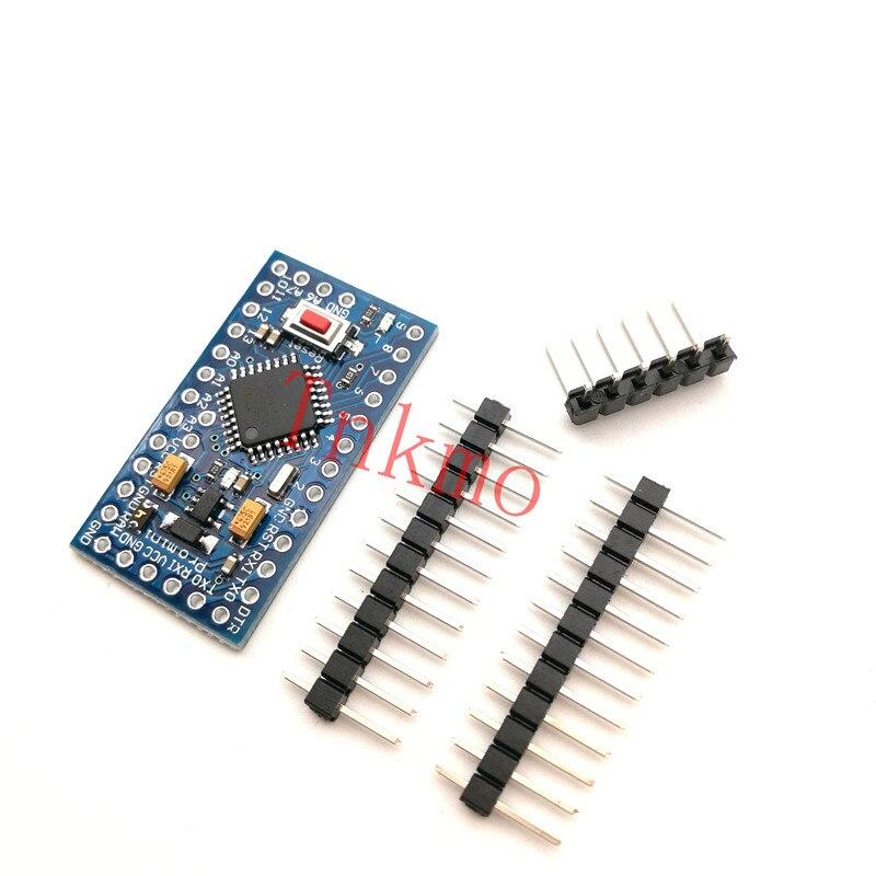 Free shipping 20PCS ATMEGA328P Pro Mini 328 Mini ATMEGA328 5V 16MHz for Arduino arduino pro mini atmega328p 5v 16mhz development board immersion gold version