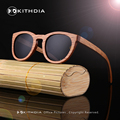 Handmade Bamboo Wooden Sunglasses Brand Style Glasses Mirror lens Polarized Du Wood Sunglasses Men fashion Women Sunglasses
