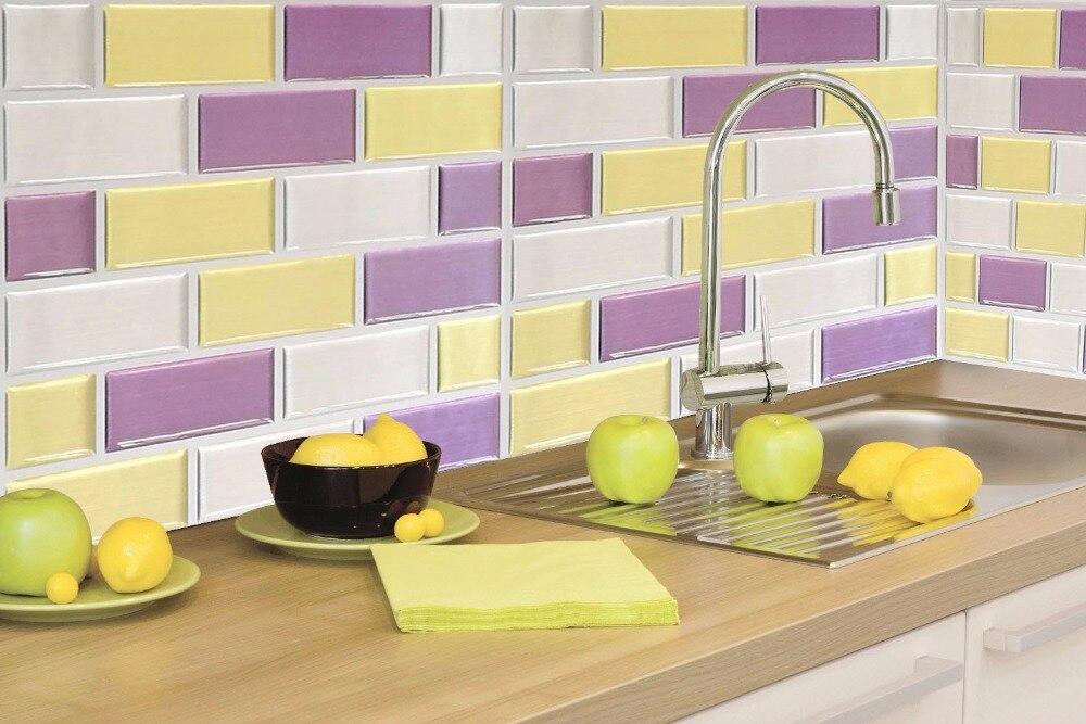 Tiling kitchen walls promotion shop for promotional tiling for Credence pour cuisine