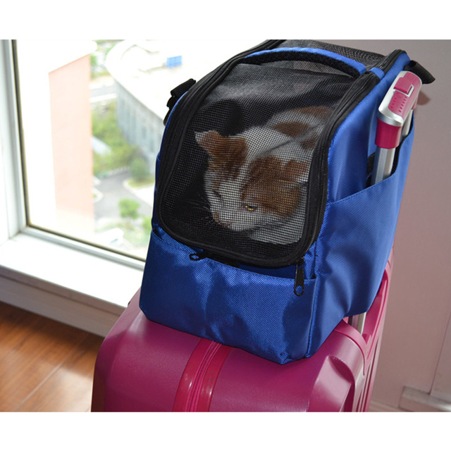 Multifunction Pet Dog Travel Bag Cat Carrier Portable Car Seat Suitcase For Small Dogs