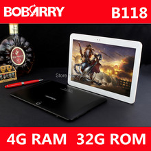 Newest B118 3G 4G phone call 10.1 inch tablet pc octa core 4GB RAM 32GB ROM 5MP IPS Tablets Phone 1280*800 MT8752