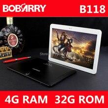 Новейшие B118 3 Г 4 Г телефонный звонок 10.1 дюймов tablet pc octa core 4 ГБ RAM 32 ГБ ROM 5MP IPS Таблетки Телефон 1280*800 MT8752