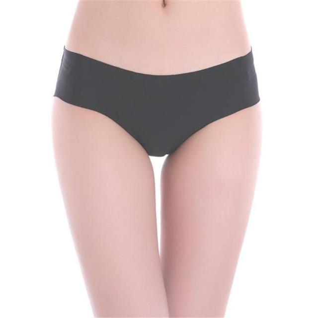 1PC High Quality Women s briefs white panties Invisible Underwear Thong  Cotton Spandex Gas Crotch transparent women female  W 45aa34659