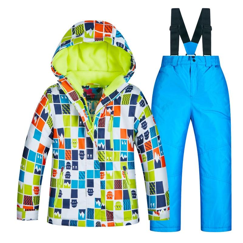 2c60b0276 Dropwow 2018 Ski Suit Children s Brands High Quality Skiwear ...