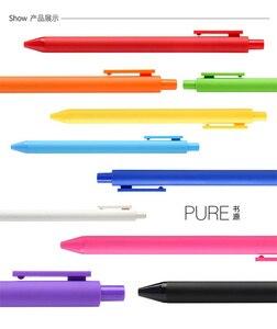 Image 4 - Ручка xiaomi mijia KACO pure 0,5 мм, 10 цветов, 20 цветов, гелевая ручка, мягкая сенсорная Подарочная коробка, цветные ручки