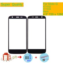 Super Quality For Motorola Moto G XT1032 XT1033 G1 Touch Screen Front Outer Glass Panel Lens NO LCD Display Digitizer