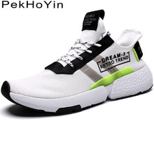 Купить с кэшбэком Trend Thick Sole Soft Fashion Sneakers Big Size Men Casual Shoes Footwear Zapatos Male Walking Shoes White Outdoor Men Shoes Man