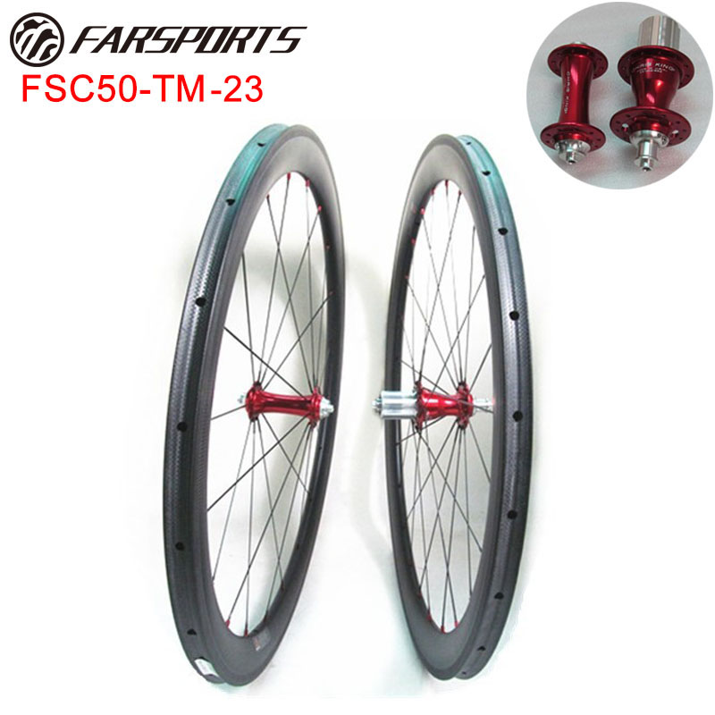 Chris King hub + Sapim CX-Ray ! High end road bike 50mm wheels tubular 20/24H Farsports durable carbon wheels OEM accepted цена