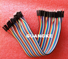 Free Shipping 400pcs dupont cable jumper wire dupont line male to male dupont line 20cm 1P diameter:2.54mm IN SKUGG