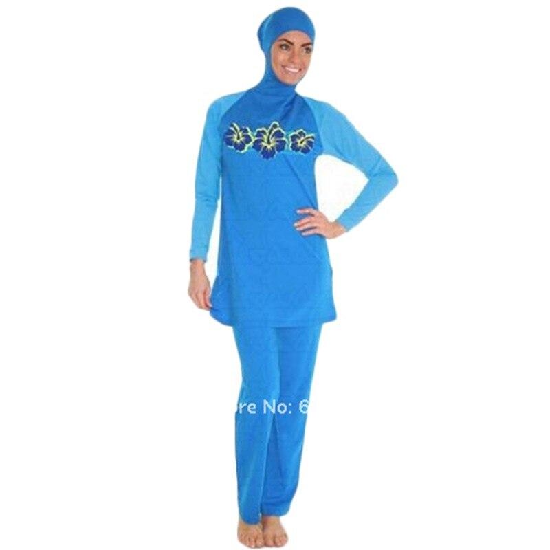 Costumi da bagno delle donne Abbigliamento spiaggia per Musulmani Arabo  Costumi Da Bagno Sulla Spiaggia a vita alta costume da bagno costumi da  bagno ... cb8412376fc8