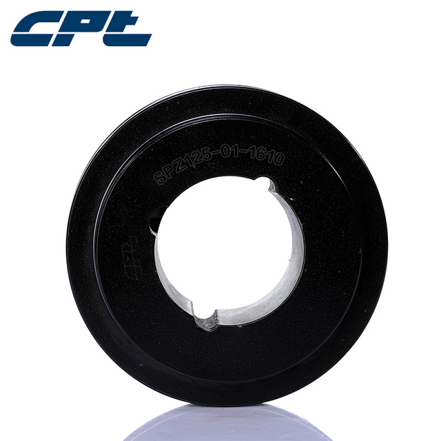 US $35 22 |CPT 1 groove SPZ belt section v belt pulleys for sale with 102mm  OD 1210 taper bush keyed pulley for winding yarn machine-in Pulleys from