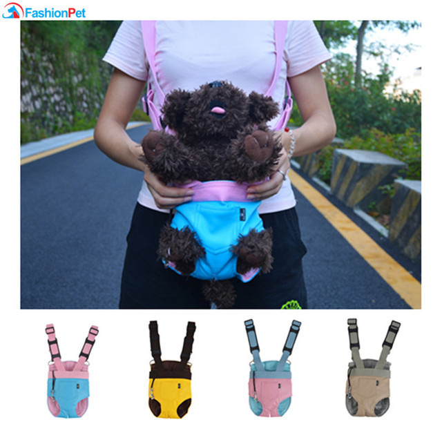 New Arrival Pet Carrier Soft Leather Kangaroo Mother Dog Cat Bag Backpack Knapsack Puppy Carry
