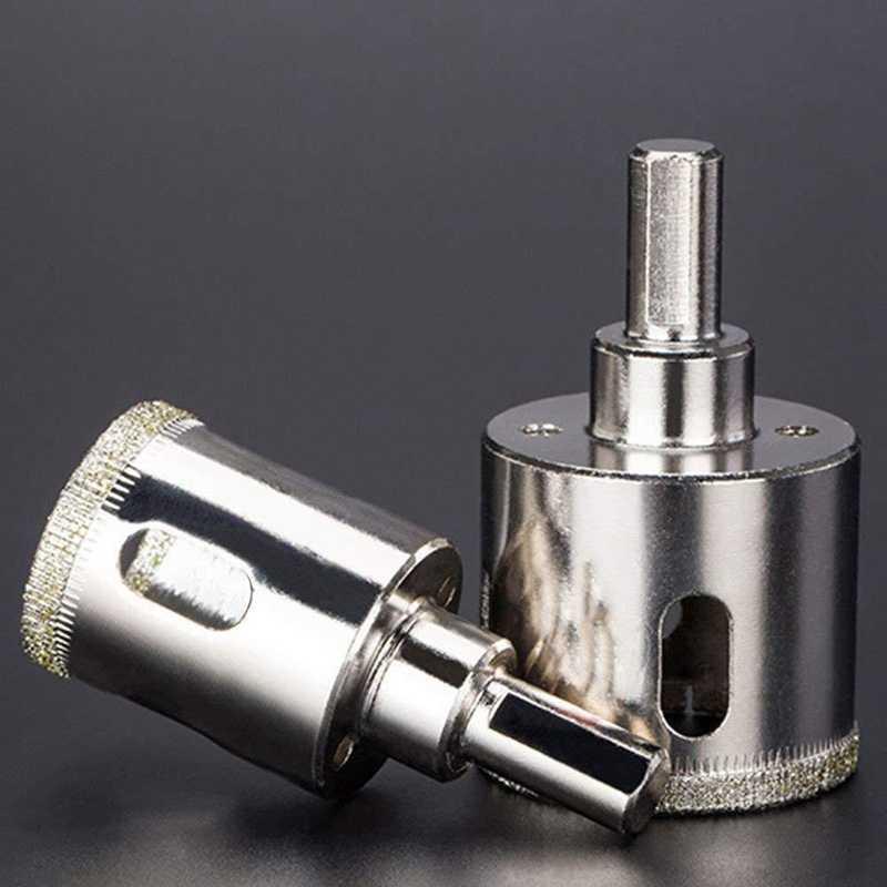 16Pcs 6-50Mm סט אריח קרמיקה זכוכית יהלומי קאטר חור מסור כלי מקדח