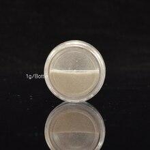 1pcs Silver Mirror Magic Pigment Powder Manicure Dust Shiny Gel Polish Nail Art Glitter Chrome Powder Decorations BE04S