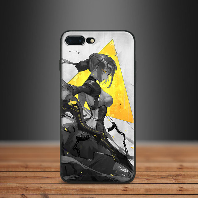 f8ec247452 Saber Fate Stay night zero FGO Grand Order Tpu Soft Silicone Phone Case  Cover Shell For Apple IPhone 5 5s SE 6 6s 7 8 Plus X 10