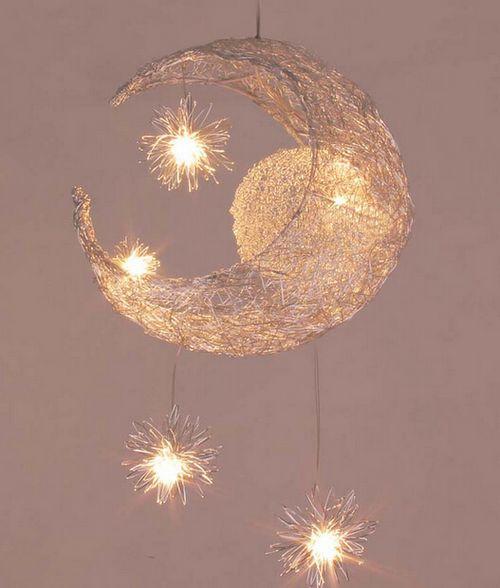 new moon u0026 star children kid child bedroom pendant lamp light decoration. Full Size Of Bedroom Ceiling Light Fixture On Bedroom Lighting