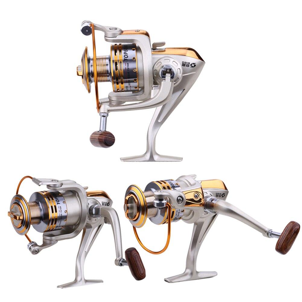800/4000/6000 складной давильные Рыбалка катушка колеса 5.5: 1 Рыбалка решать PESCA spinnning Катушка подачи Карп Рыбалка колеса