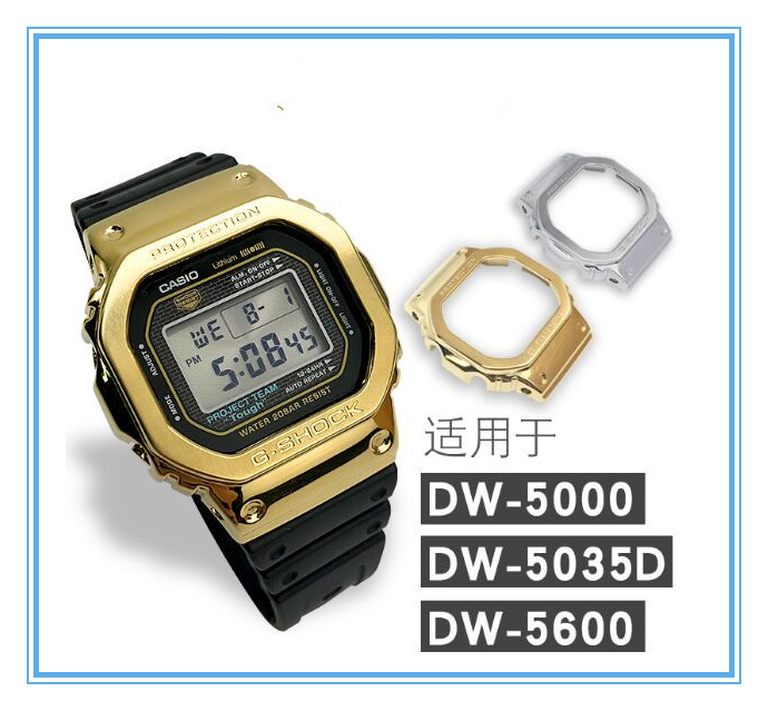 G Shock Dw 5600 Gw M5610 Gmw B5000 Stainless Steel Bezel Case Replacement Select Colors Repair Tools Kits Aliexpress