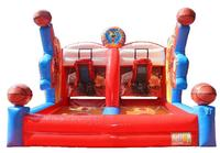 Outdoor /Indoor Commercial Inflatable Basketball Game