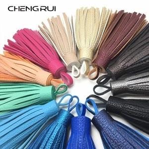 CHENGRUI L88,10cm,tassel,fringe,leather tassel,craft tassels,accessories making,curtain,embellishments,hand made,1pcs/bag(China)