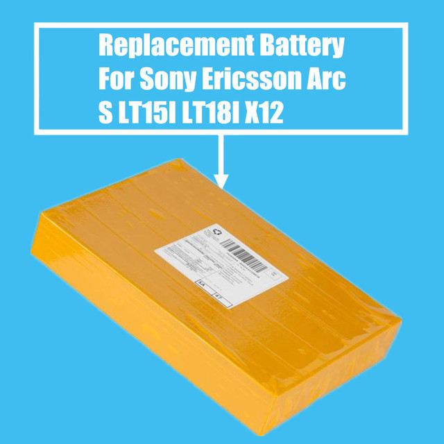 10Pcs/Pack 1500mah Replacement Battery For Sony Ericsson Xperia Arc S LT15I LT18I X12 High Quality