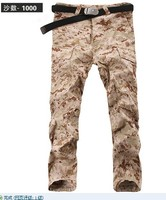 Outdoor field service digital desert camouflage pants for training pants 1000 S-XXL