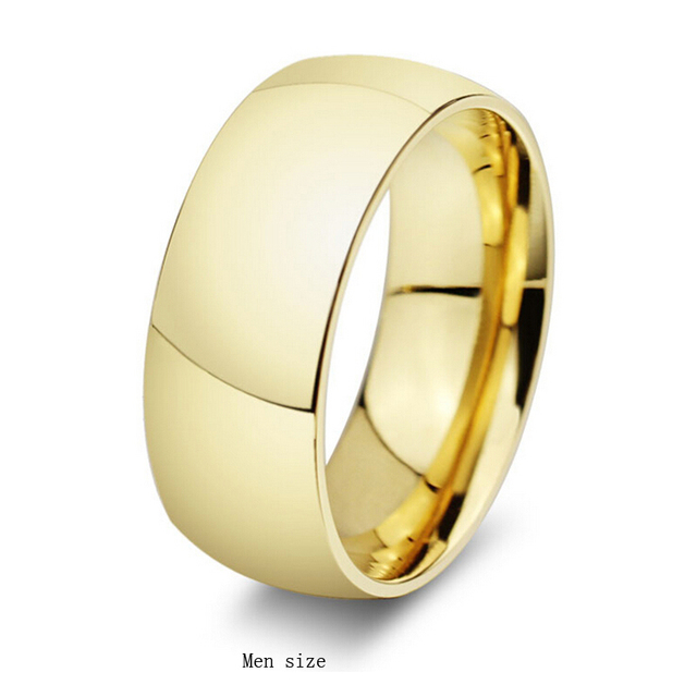 Wedding rings stainless steel jewelry