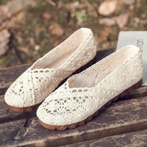 Shoes Women2019 Summer Lace Ho