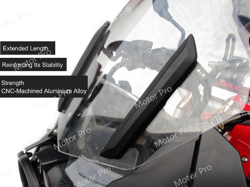 Adjustable Windshield Bracket For BMW R1200GS 2013 2018 Motorcycle Windscreen Holder R 1200 GS R1200 GS1200