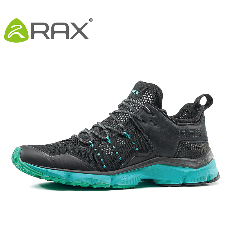 Rax 2017 Men&Women Breathable Hiking Shoes Spring Summer Outdoor Lightweight Mesh Hiking Shoes Zapatillas Senderismo Mujer hot new 2016 fashion high heeled women casual shoes breathable air mesh outdoor walking sport woman shoes zapatillas mujer 35 40