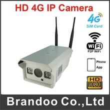 30-50M IR Distance 4G Wireless CCTV IP Waterproof Camera