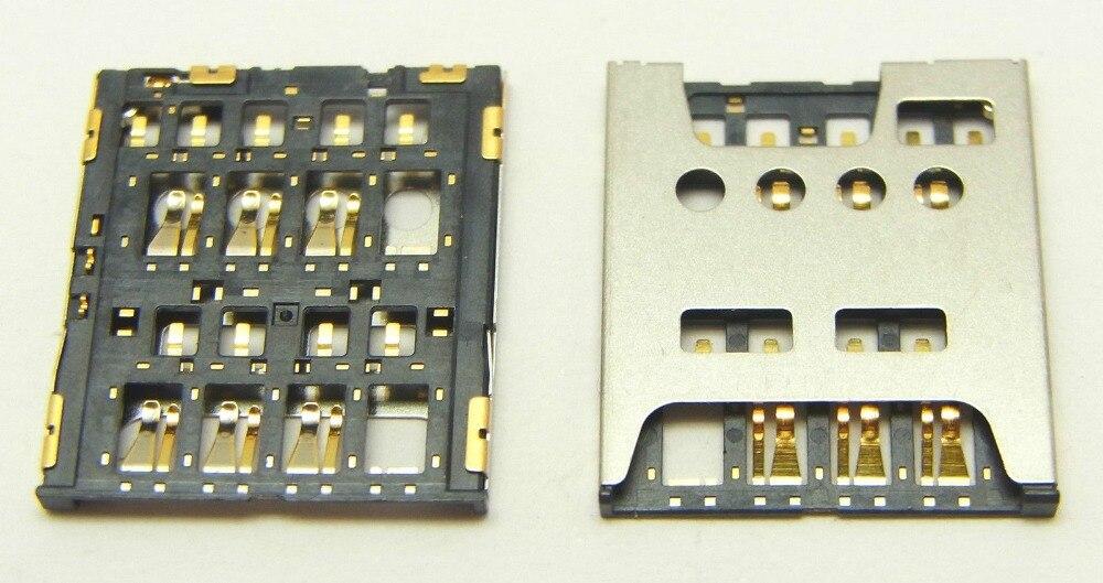High Quality Sim Card Reader Holder Slot Socket For Sony Xperia S LT26 LT26i Sim Part New In Stock