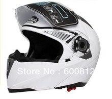 2016 Новый JIEKAI 105 Мотокросс undrape Мотоциклетный Шлем Moto Racing рыцарь ABS Мотоцикл Езда шлем белый Цвет