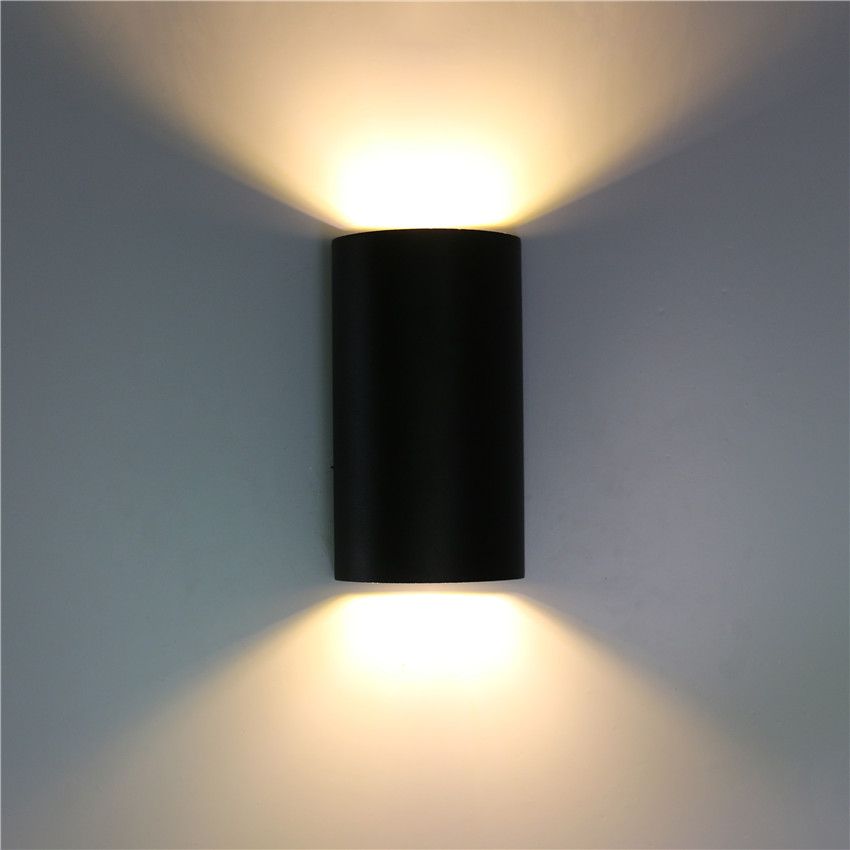 Outdoor Waterproof Wall Lamp Up Down Light Aluminum