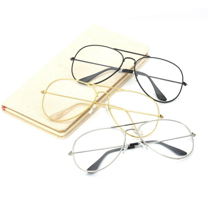 Moda Mujer Gafas de Oro Marcos Hombres Marca Marco de Gafas de - Accesorios para la ropa - foto 2