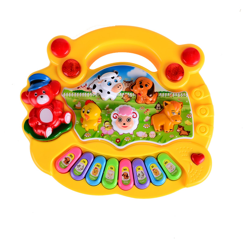 BOHS-Baby-Kids-Electrical-Farm-Animal-Sound-Keyboard-Piano-Music-Toy-2