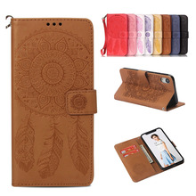 Embossed Cute Butterfly Flower Printing Flip PU Leather Cases For iPhone X XS XR MAS 6 6s 7 8 Plus Wallet Stand card Slots Case стоимость