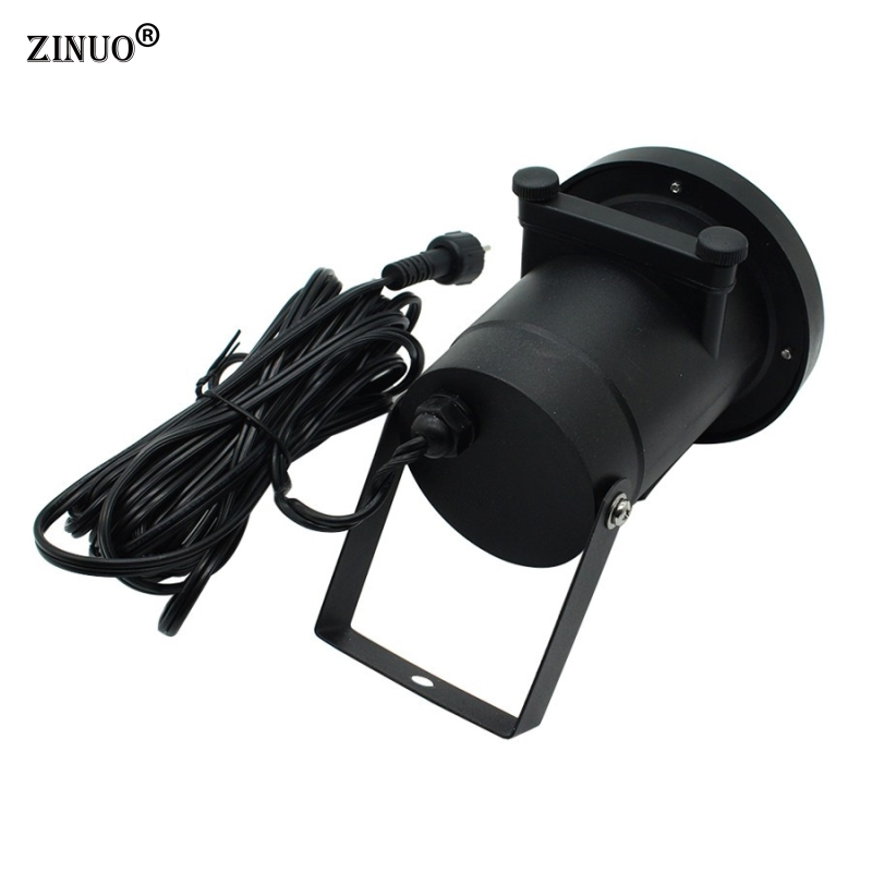 ZINUO Outdoor Garden Laser Projector Lamps With 12pcs Xmas Patterns Waterproof Halloween Projector For Christmas New Year Party in Stage Lighting Effect from Lights Lighting