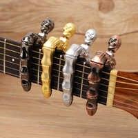 Crânio dedos legal design capo guitarra para guitarra elétrica acústica ukulele guitarra acessórios peças