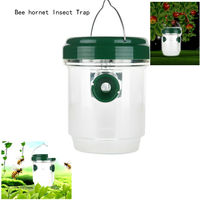 Bee Hornets Insect Trap Solar LED Light Lamp Lantern Smokeless Tasteless Super Mute Insect Trap Lamp