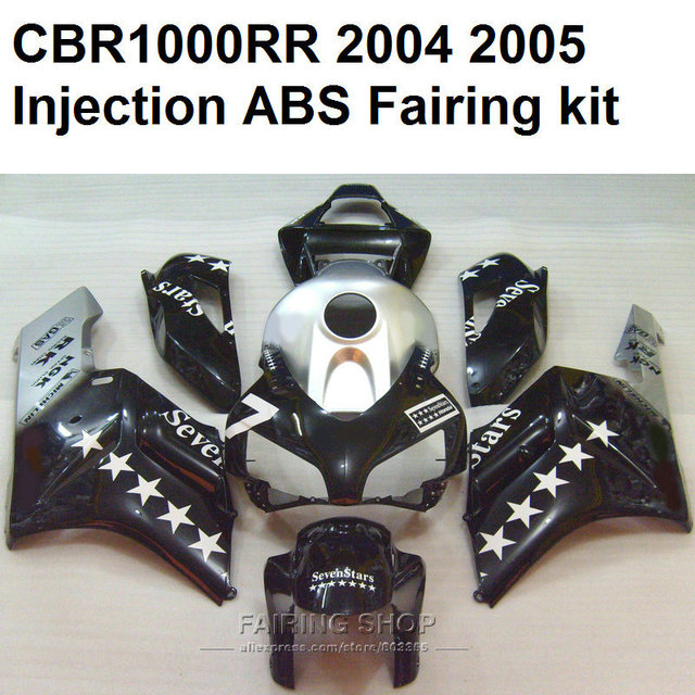 Seven star Fairings For Honda cbr 1000rr 2004 2005 ( best quality Injection mold ) fairing kit cbr1000rr 04 05 C14