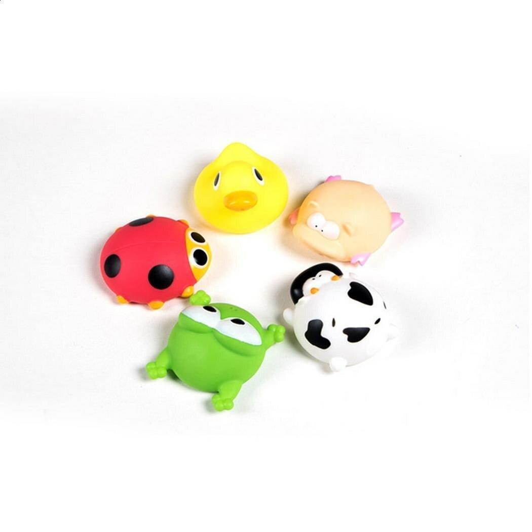Игрушки резиновые лягушка детский бассейн игрушка Животные плавающий Squeeze детская ванночка мягкого