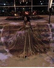 فساتين حفلة راقصة للفتيات باللون الذهبي الترتر اللامع مقاس كبير 2020 أنيقة مكشوفة الكتف فستان تخرج للأميرة الأفريقية باللون العنابي