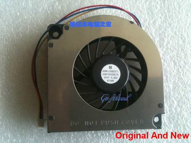 Brand New And Original CPU Fan For Toshiba Qosmio E10 E15 F10 F15 G10 G15 G20 G25 102 GDM610000371 UDQFC65E4CT0 DC 5V 0.3A 8728R