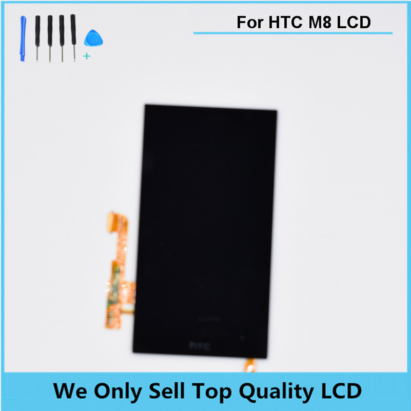 For HTC ONE M8 813C LCD Display Panel With Touch Screen Digitizer Assembly Free shipping +Tools +Tracking information lcd screen display touch panel digitizer with frame for htc one m9 black or silver or gold free shipping