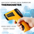 Non-Contact IR Infrared Thermometer LCD Display Digital Temperature Gun Temp Thermometer Laser Handheld Measuring Device