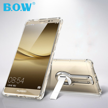 For Huawei Mate 8 Case Original B.O.W Brand TPU Protective Cover with Holder for Huawei Mate 8 Case Cover Fundas Mate8 shell